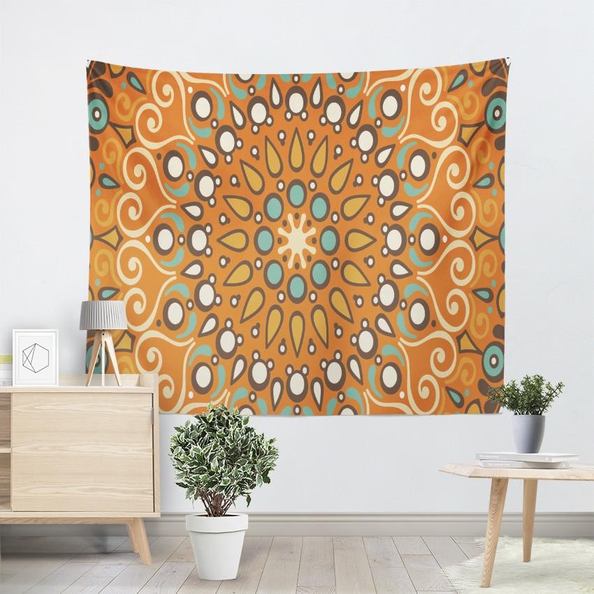 2018 New Lotus Tapestry Bohemia Boho Mandala Wall Hanging Decorative Rugs Hippie Beach Towel Mat Blanket In From Home