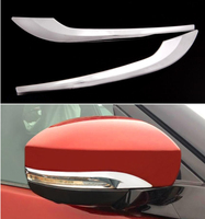 Side Rear View Rearview Mirror Cover Trim For Land Rover Discovery 5 ( 2017 ) 2pcs/set