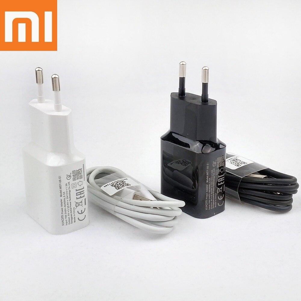 Chargeur rapide d'origine Xiao mi pocophone f1 18W EU 12v 1.5a quick QC 3.0 adaptateur de charge murale de voyage pour A2 A1 mi 9 8 6 mi x 3 2s