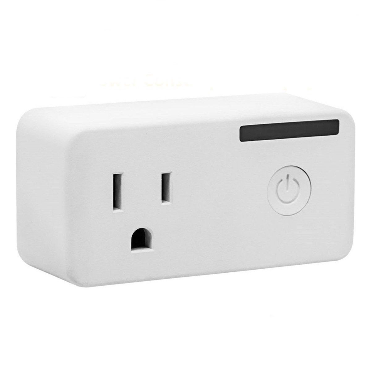 Mini Wifi Timing Function US Plug Works with Google Home Alexa Smart Switch, Remote Control Devices Anywhere with Electricity