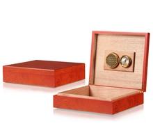 New Portable High Quality Mini Cedar Cigar Humidor Smoking Supply Hot Selling Wooden Travel Household Cigar Case Gift Box LFB441