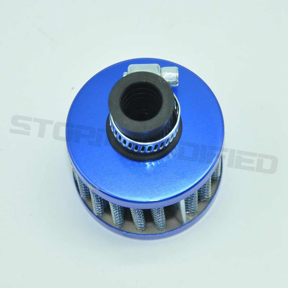 Sutonga 12 Mm Mini Mobil Filter Udara Mobil Motor Dingin Udara Asupan Filter Turbo Ventilasi Crankcase Nafas Motor Styling Alat Ekstra