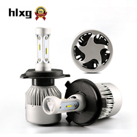 HLXG S2 CSP CHIPS 64W 16000LM Set H4 LED Bulb Car Headlight Near And Far Beam