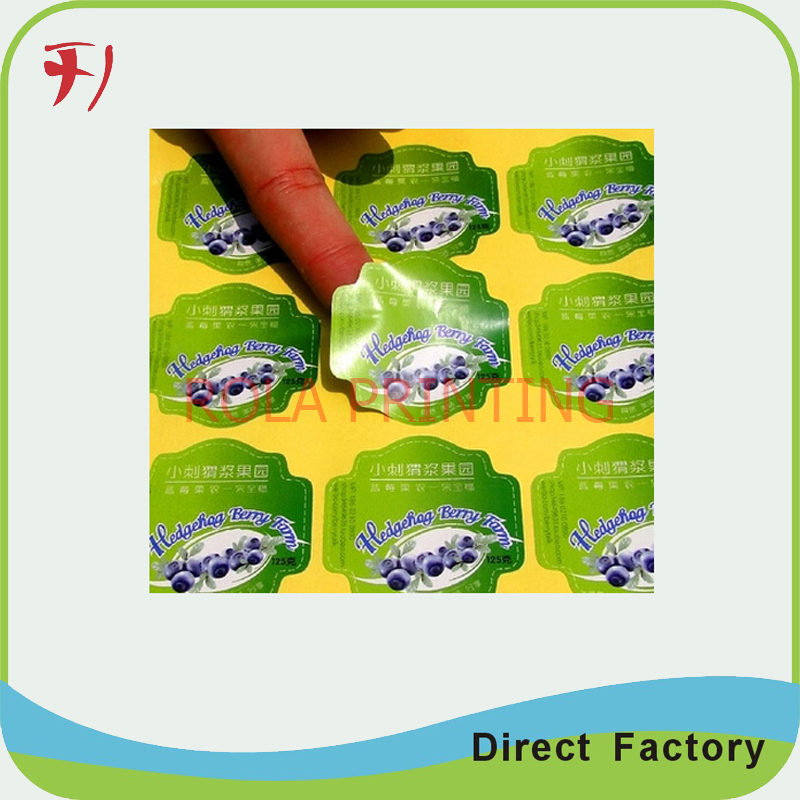 Customized China Direct Manufacture Custom Printing Color Address Labels