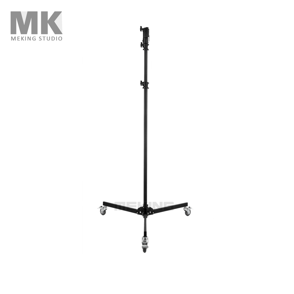 Meking Photo Studio Video Light Stand MF-8083 Lighting Stand w/ Wheels 323cm/10.6ft load 8/kg
