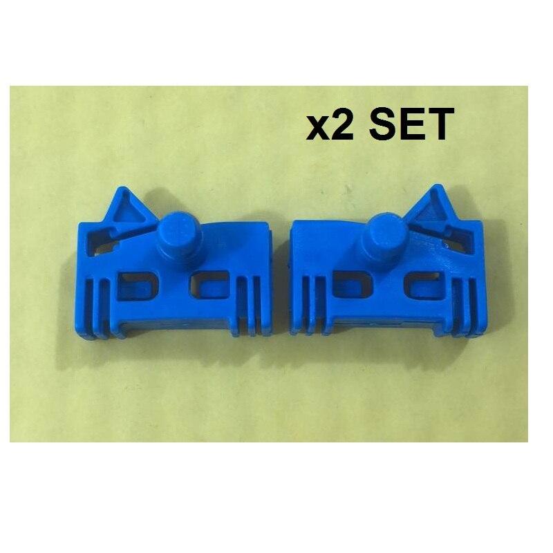 X2 SET (four Pieces) FOR CITROEN XANTIA X2 WINDOW REGULATOR REPAIR KIT FRONT RIGHT / LEFT 1998-2003 * NEW*