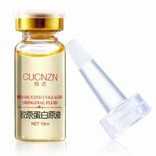 1PC Collagen Liquid Face Cream Anti Aging Essence Serum Anti-Fine-lines Whitening Cream Skin Care Moisturizing Firming Face Care