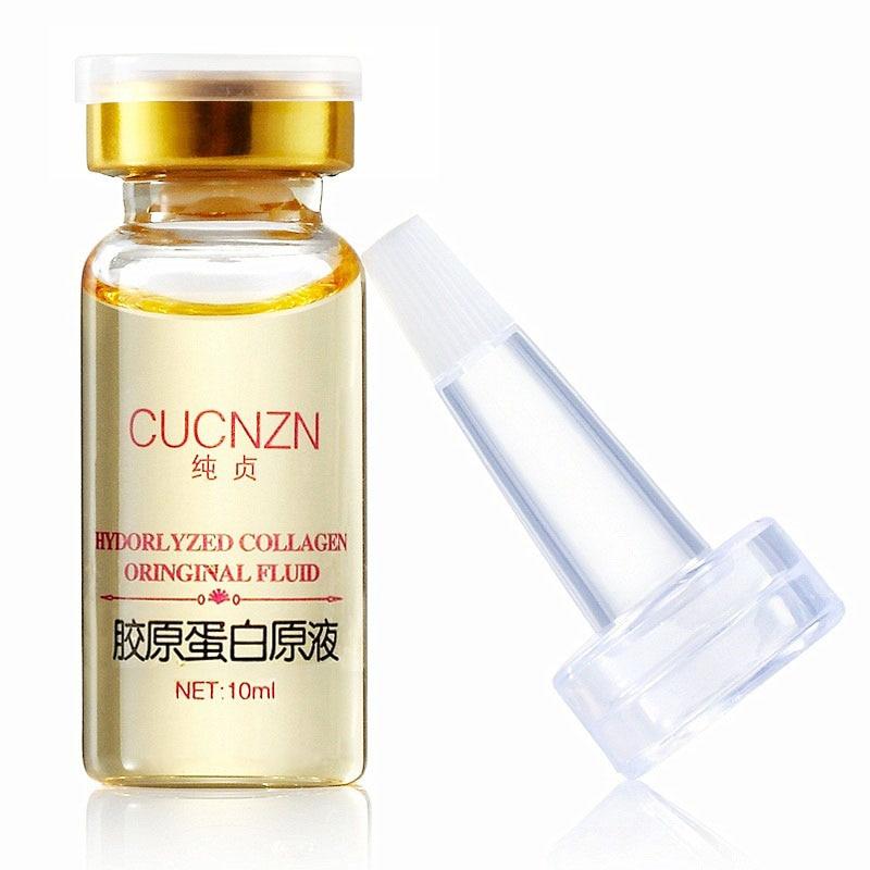 Hyaluronický kolagenový sérový krém na obličej Anti-aging Essence sérum proti jemným čarám Pleťová bělící krém Hydratační krém na obličej