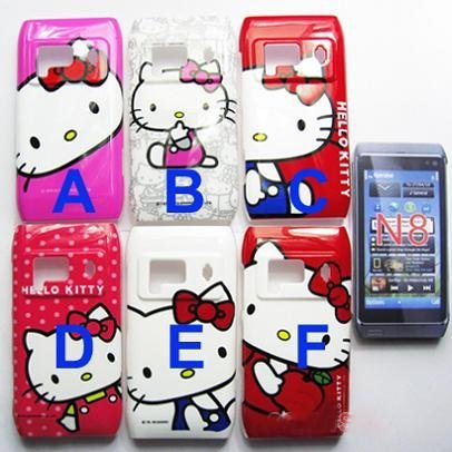 sports shoes b0ed5 288ce US $72.99 |For Nokia N8 Case Brand New Hello Kitty Plastic Hard Back Cover  Case For Nokia N8 Case Free Shipping on Aliexpress.com | Alibaba Group