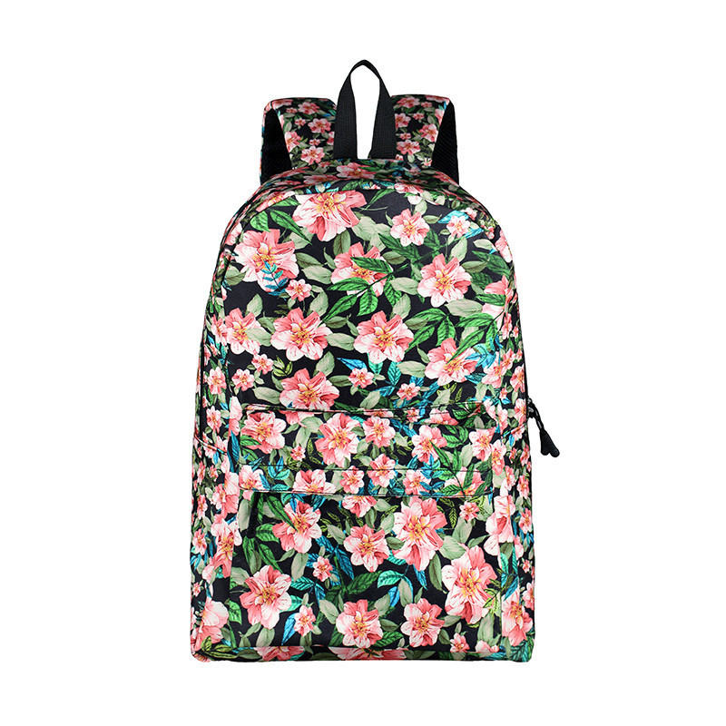 Korean floral Women Backpack For Teenagers Girls Students School Bags Lady Travel Laptop Backpack Brand Design