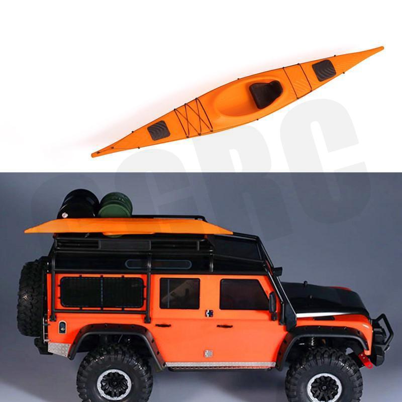 Alta calidad 3D impreso kayak modelo para 1/10 RC Crawler coche Traxxas TRX4 D90 D110 Axial Scx10 90046 90047 Ford bronco