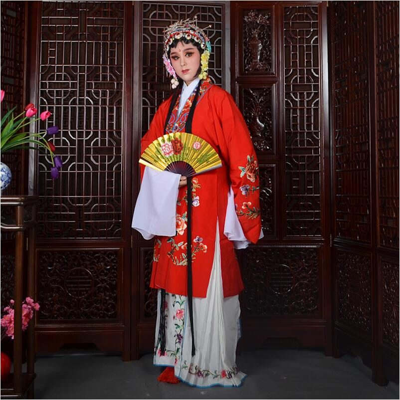 Beijing Opera Dance Costumes Women long sleeve stage wear Ancient Chinese Clothing classical art performance garment