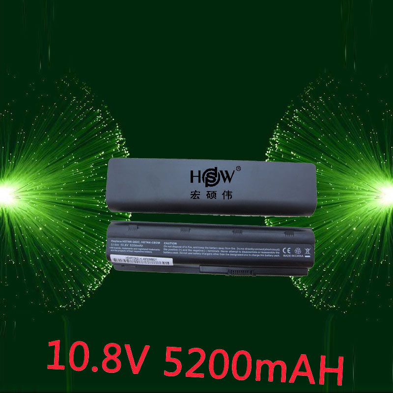 HSW Battery for HP Pavilion DM4 DV3 DV5 DV6 DV7 G32 G42 G62 G56 G72 for COMPAQ Presario CQ32 CQ42 CQ56 CQ62 CQ630 CQ72 MU06 hsw 10400mah battery for hp pavilion dm4 dv3 dv5 dv6 dv7 g4 g6 g7 g72 g62 g42 for presario cq32 cq42 cq43 cq56 cq62 cq72 mu06