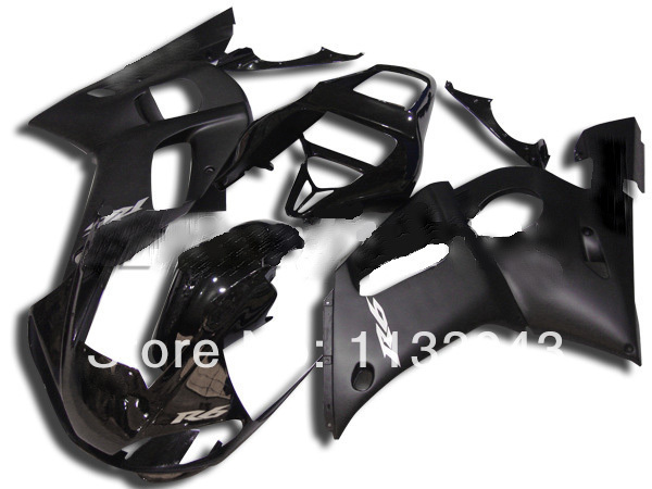 100%new black Fairing kit for Yamaha YZF-R6 98-02 YZF R6 98 99 00 01 02 YZF 600 R6 1998 - 2002 aftermarket fairing kits+7gifts