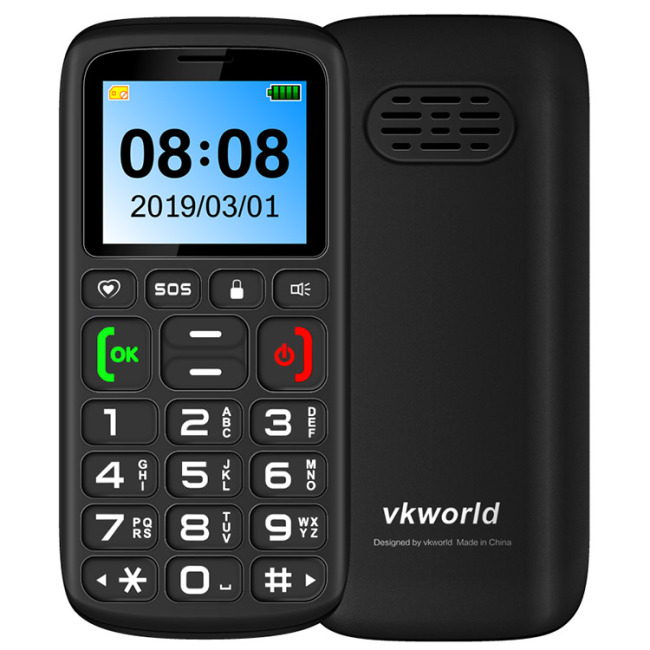 VKWORLD Z3 2G Mobile Phone 32MB RAM 32MB ROM Spread-trum SC6531 312MHz Single Core 1.77 Inch ScreenVKWORLD Z3 2G Mobile Phone 32MB RAM 32MB ROM Spread-trum SC6531 312MHz Single Core 1.77 Inch Screen