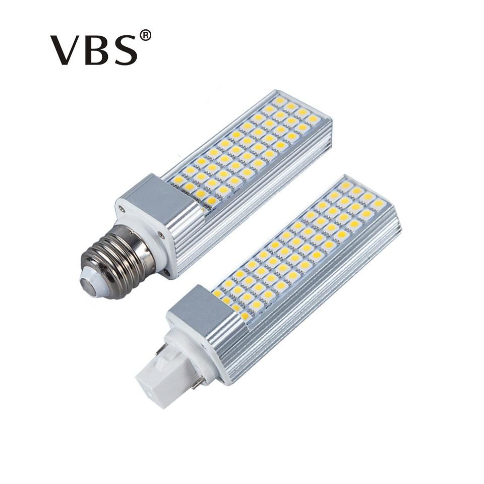 G24 Led Bulb Bombilla Led G24 E27 5W 7W 9W 11W 13W Bombillas Led G24 E27 Corn 180 Degree 110V 220V 5050 Smd Led Lamp Light Bulb