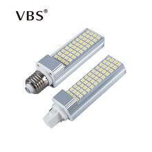 LED Bulbs 5W 7W 9W 11W 13W E27 G24 LED Corn Bulb Lamp Light SMD 5050 Spotlight 180 Degree AC85-265V Horizontal Plug Light