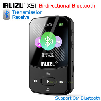 f8508e2500d New Original RUIZU X51 Clip Bluetooth MP3 Player Sport MP3 Music Player  With Recorder FM Radio Support TF Card Can Connect Phone