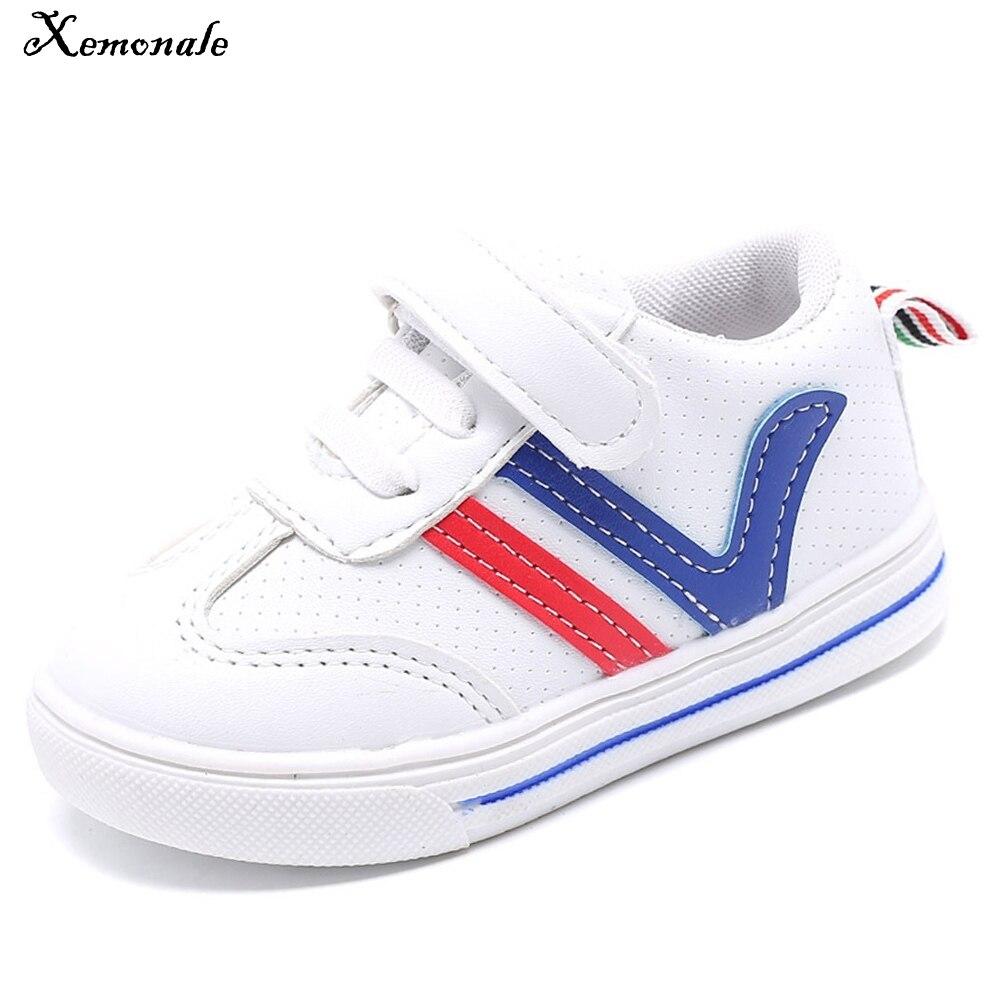 Xemonale/детская обувь Весна и осень плюшевые водонепроницаемой кожи для мальчиков и девочек для активного отдыха и развлечений Бег trail обувь О... ...