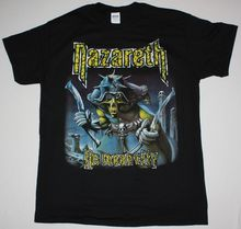 лучшая цена NAZARETH NO MEAN CITY HARD ROCK SWEET URIAH HEEP DEEP PURPLE NEW BLACK T-SHIRT Fashion T Shirt Tee Top Tee