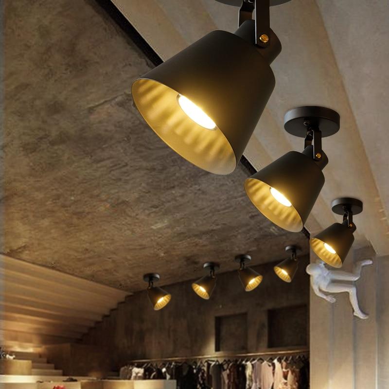 Светодиодный потолочный светильник путь света Ретро бар коридор снимает Ресторан потолочный светильник кафе-бар зале магазина клуб Кофе м...
