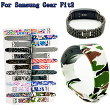 For Samsung Gear Fit2 SM R360 font b Smart b font Bands font b Watch b