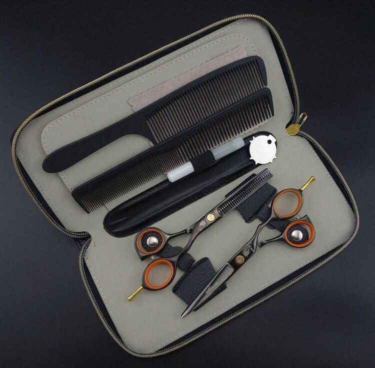 Smith Chu Professional Hair Scissors Set,cutting Scissors & Thinning Scissors,barber Shears,9cr13,s365 Useful New 5.5 In Hair Scissors