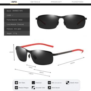 Image 4 - 2019 Nieuwe Carbon Fiber Hoge Kwaliteit Zonnebril Gepolariseerde UV400 Brand Design Mode Mannelijke Zonnebril Vrouwen Voor Mannen Oculos De sol