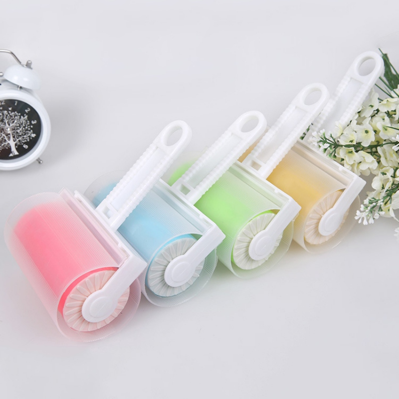 Washable Sticky Hair/Clothes/Buddy For Wool Dust Catcher Carpet Sheets Sucking Sticky Dust Drum Lint Rollers