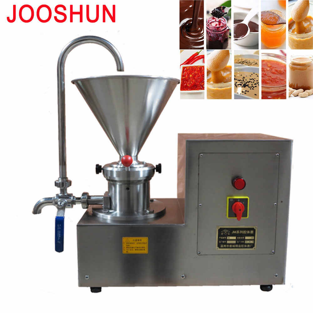 Electric Big Grinder Machine Commercial Automatic Peanut Butter Grinding Maker Food Processor Stainless steel Colloid Mill 2200W