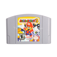 Nintendo N64 Video Game Cartridge Console Card Mario Party 3 English Language Version