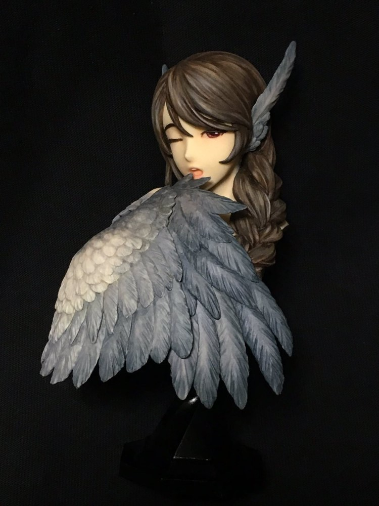 Kit de figura de resina 1/5 Bird Girl Bust Kit de busto de resina sin pintar-in Figuras de juguete y acción from Juguetes y pasatiempos on AliExpress - 11.11_Double 11_Singles' Day 1