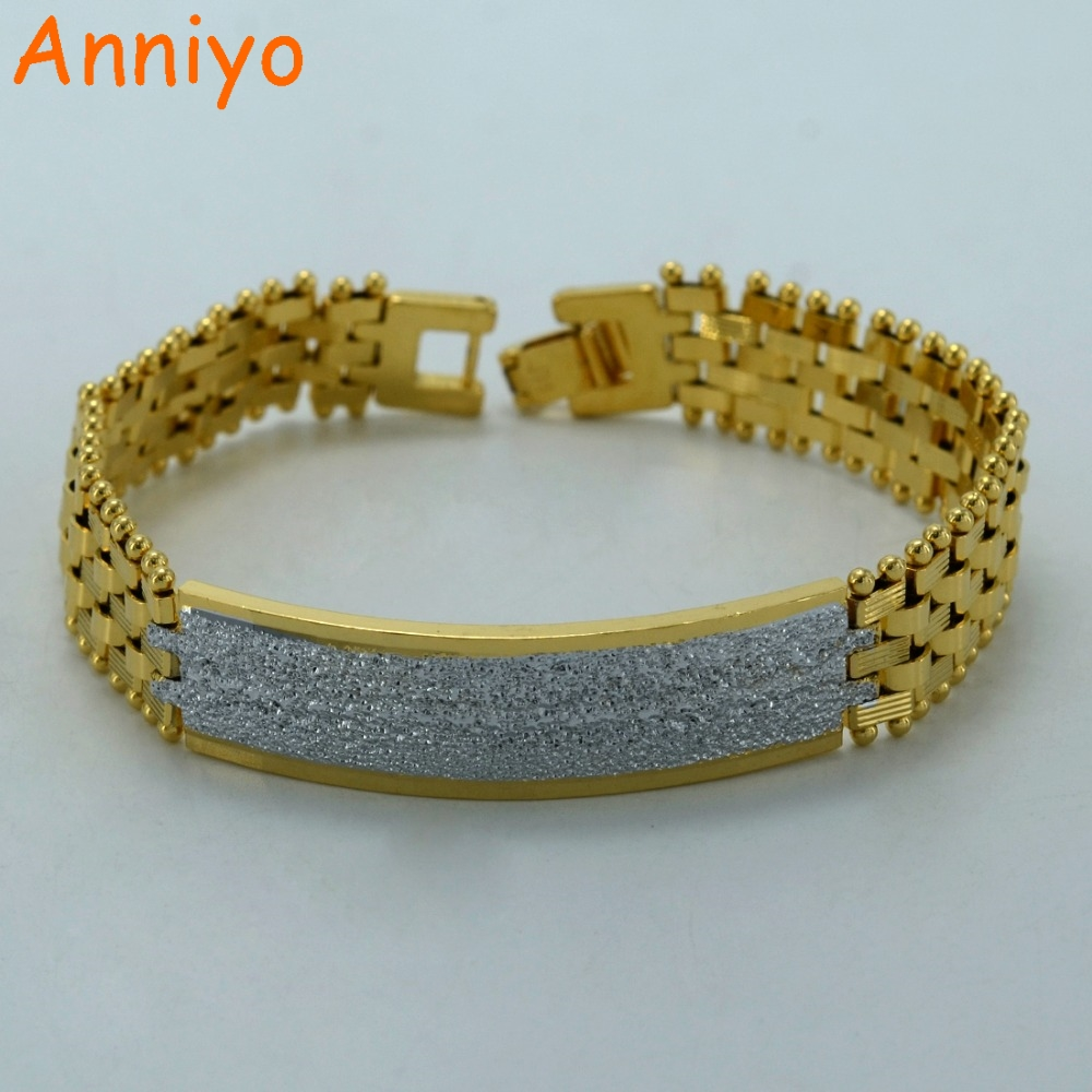 Silver Color Bracelet Men,africa Thick Chain  Jewelry