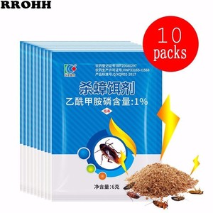 Image 1 - 10Packs New Effective Killing Cockroach Bait Powder Cockroach Repeller Insect Roach Killer Anti Pest Reject Trap Pest Control