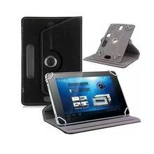 360 Grados de Rotación Universal de la Tableta de LA PU cubierta de Cuero del caso Para cube u27gt super/MTK8163 U33GT Tablet PC Quad Core 8 pulgadas tablet