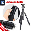 E302 Professional Photographic Travel Compact Aluminum Tripod Monopod Panoramic Ball Head for DSLR Camera Better than Q666