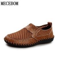 Men Shoes 2017 Summer Fashion Men Casual Shoe Slip On Breathable Comfort Flat Men Shoes Brown