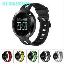 SK58 Спорт Смарт часы браслет сердечного ритма Приборы для измерения артериального давления Фитнес трекер Водонепроницаемый для Samsung Galaxy S8 плюс S6 S7 край S5