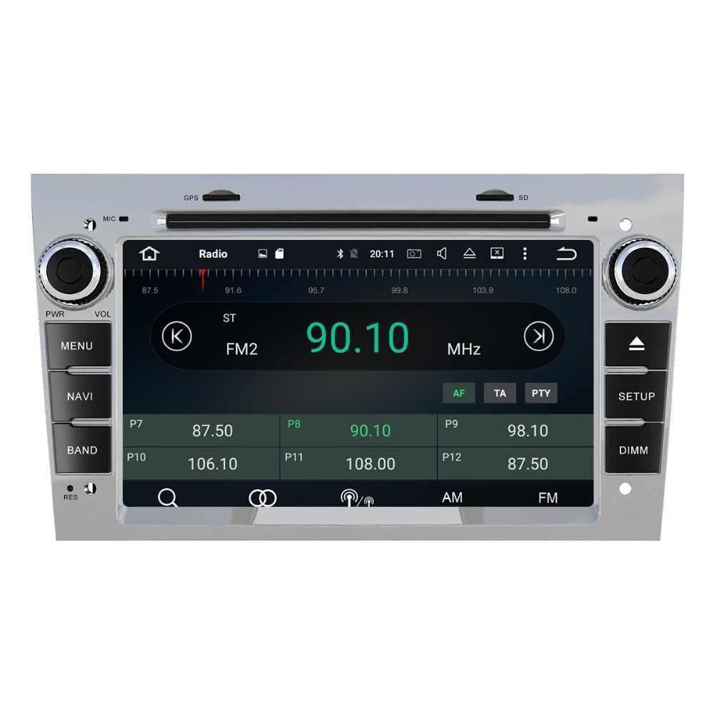Aotsr アンドロイド 8.1 Gps ナビゲーションカー Dvd プレーヤーオペルアストラ H グラム J アンタラベクトラザフィーラ Vauxhall マルチメディアラジオレコーダー