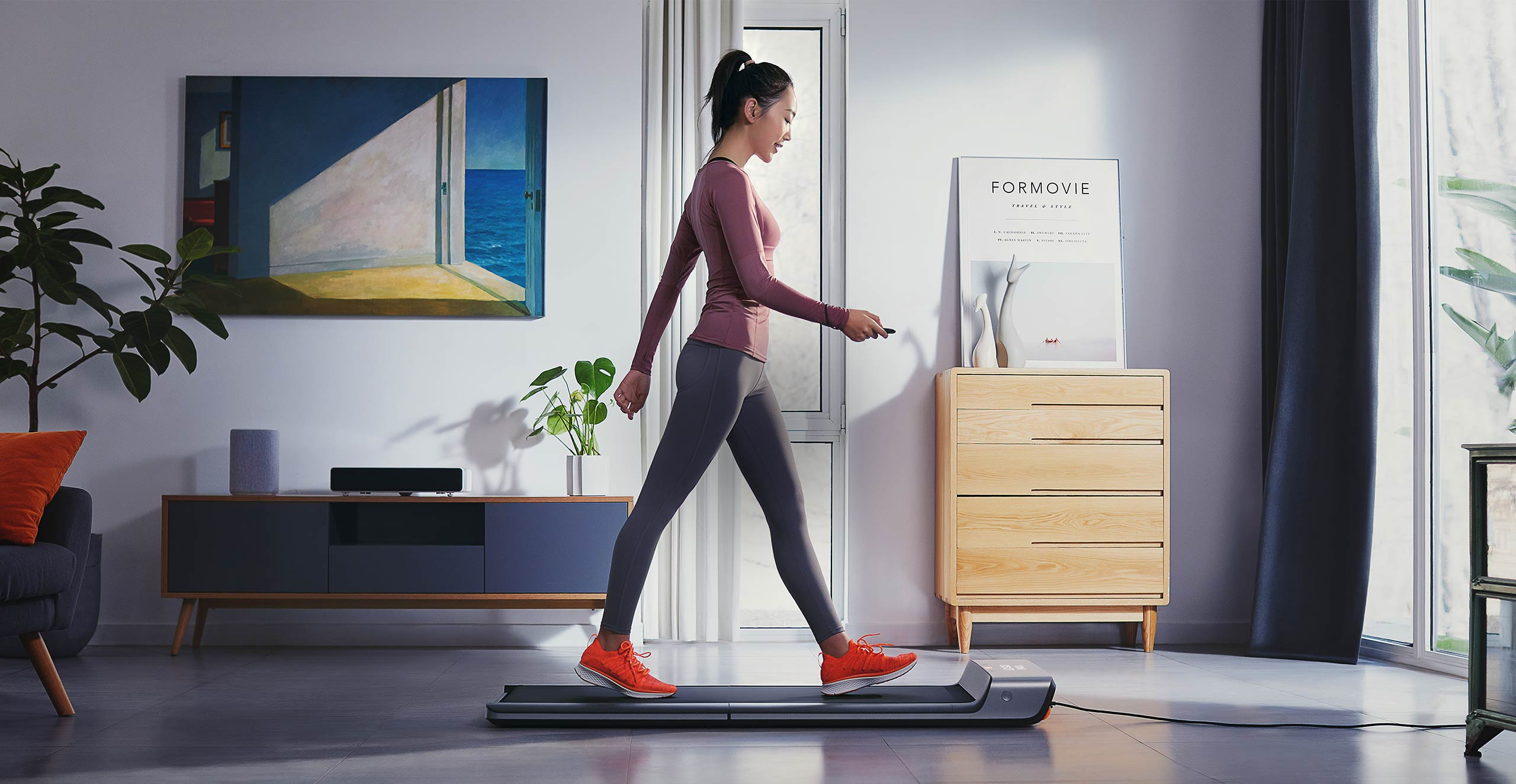 Xiaomi Mijia WalkingPad walking Machine Foldable Household Non-flat  Treadmill Smart Control of Speed Connect Smart Mi Home App