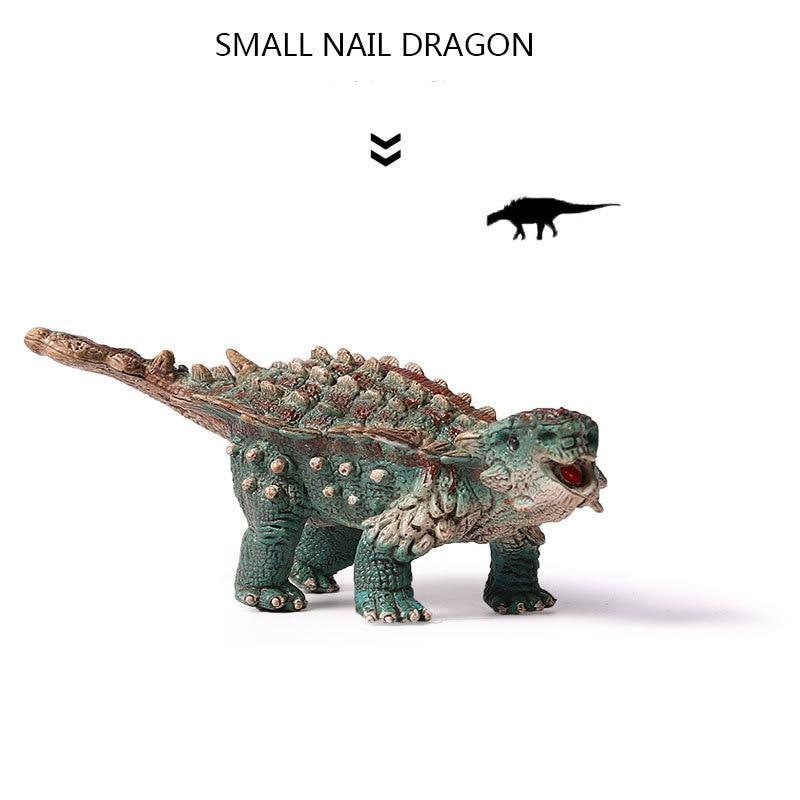Acción y Figuras de Juguete Jurasic Mini Saichania Dragón - Figuritas de juguete - foto 4