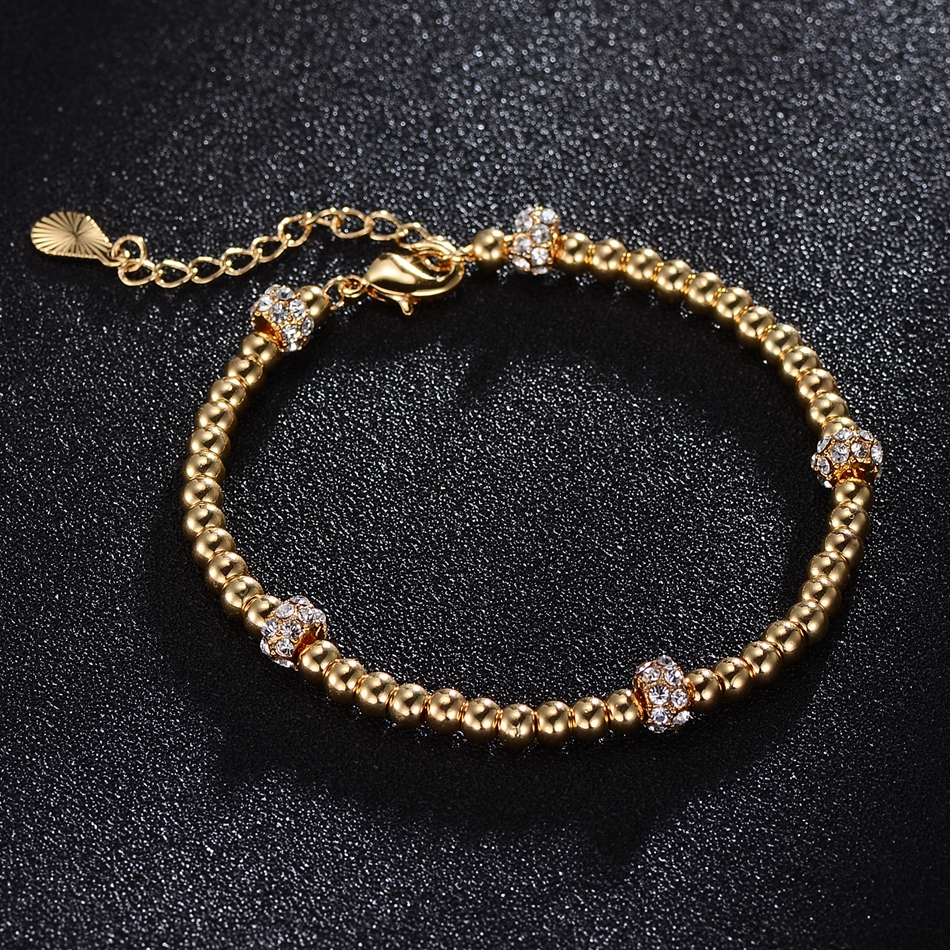 Personalised Gifts Luxury Gold Bangles For Women' Stainless Steel Bracelets & Bangles Dress Gift Jewelry