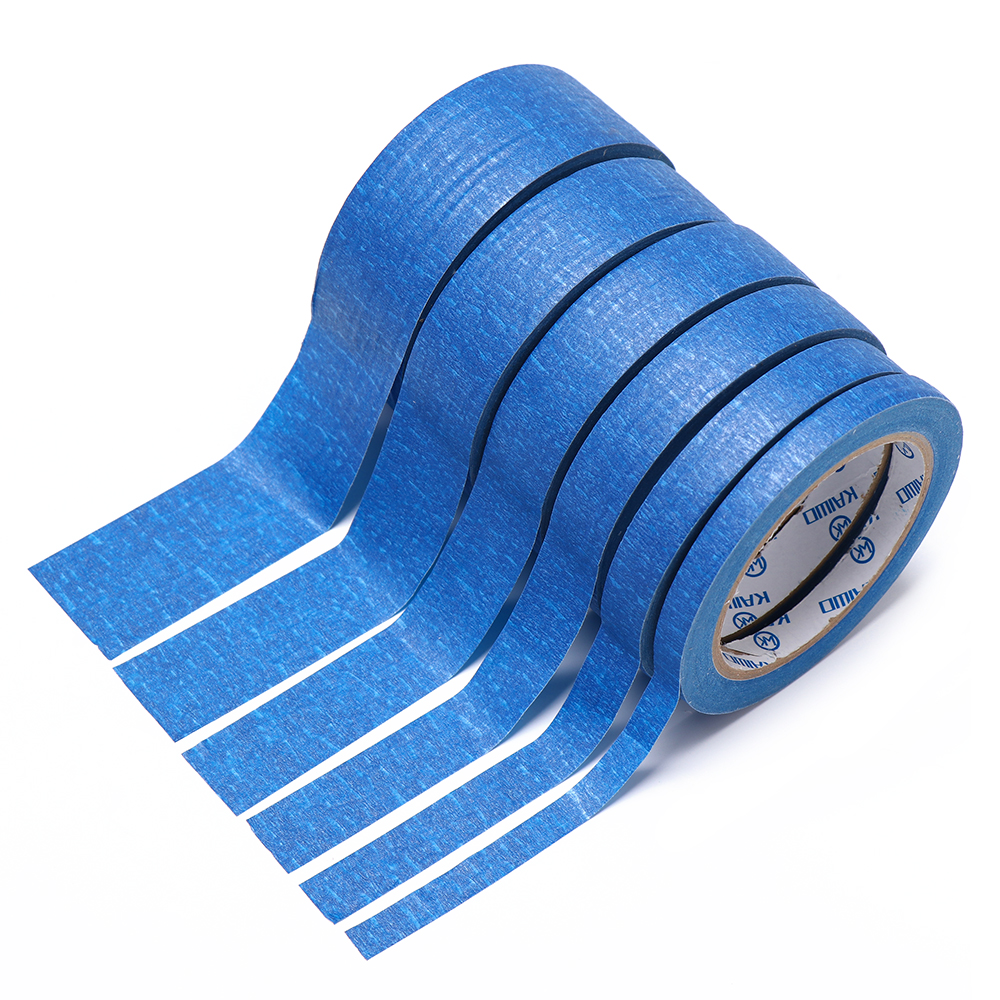 30M Blue Painters Clean Peel Masking Tape Adhesive DIY Painting Paper Painter Decor Craft General Purpose Brush Paint Dedicated