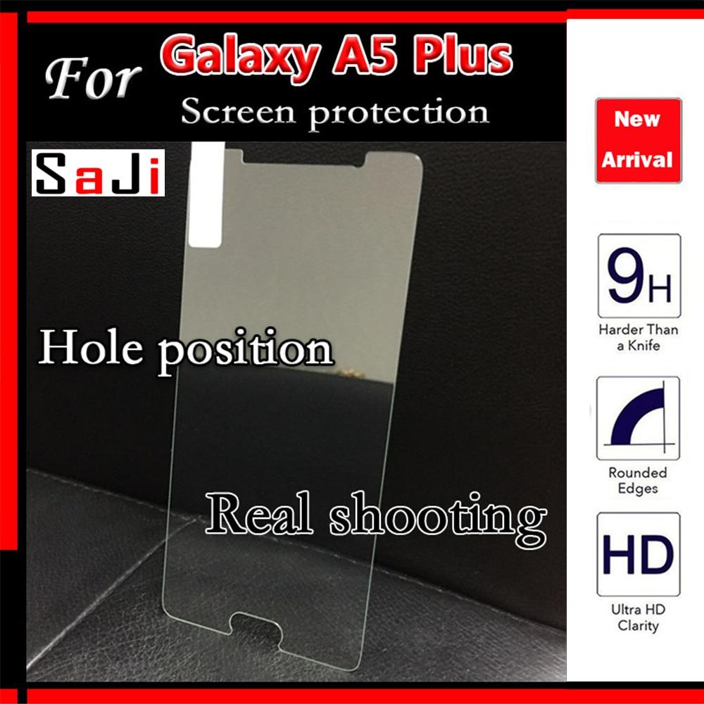 2 шт. Экран закаленное Стекло для Samsung A5 2016 Экран протектор Плёнки 0.26 мм для A510F 5.2 дюйма Nano покрытие стекло защитный