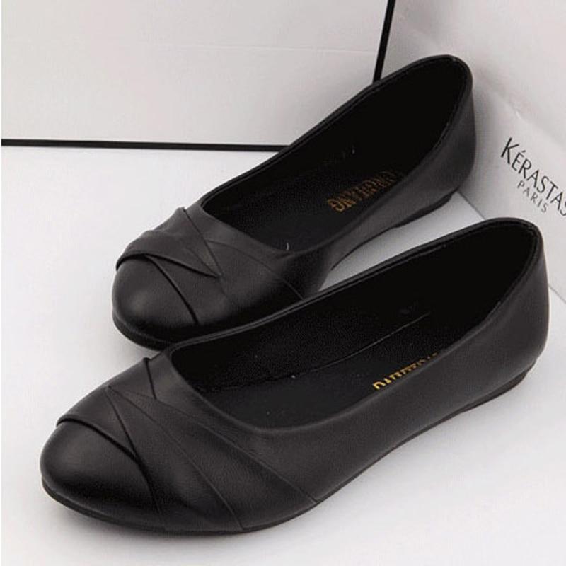 Womenn Slip On Ballet Flats Plain Classic Flats For Women