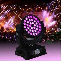 36x12 W Rouge Vert Bleu Blanc LED Effet Disco Tête Spot Lampe DJ Éclairage de Scène