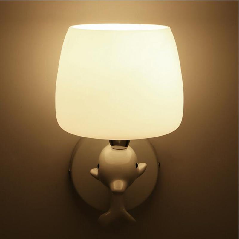 Bed woonkamer muur lampen gang wandlamp licht apliques pared ...