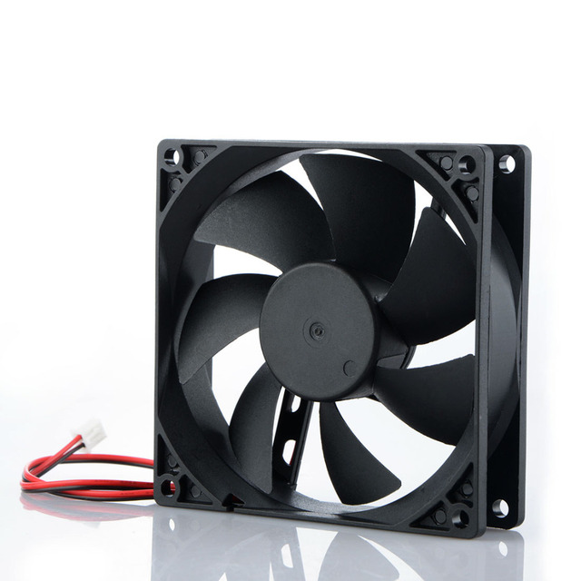 2 Pin 12V 90*90*25mm Laptops Replacement Accessories Cooling Fans For Notebook Computer Cooler Fans P0.11