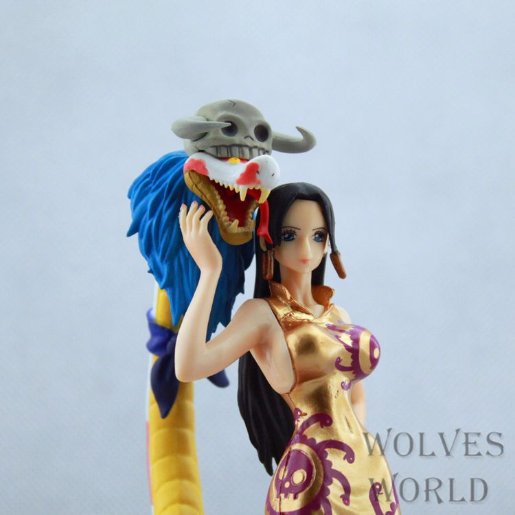 anime one piece action figure Sweetheart Boa Hankokku model pvc figure classic collection Variable Action toy doll anime one piece arrogance zoro model pvc action figure variable action classic collection toy doll