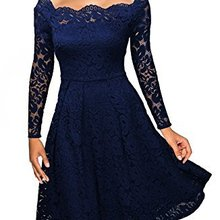 Women Party Dress Elegant Off The Shoulder Lace Long Sleeve Red Slim Casual Body